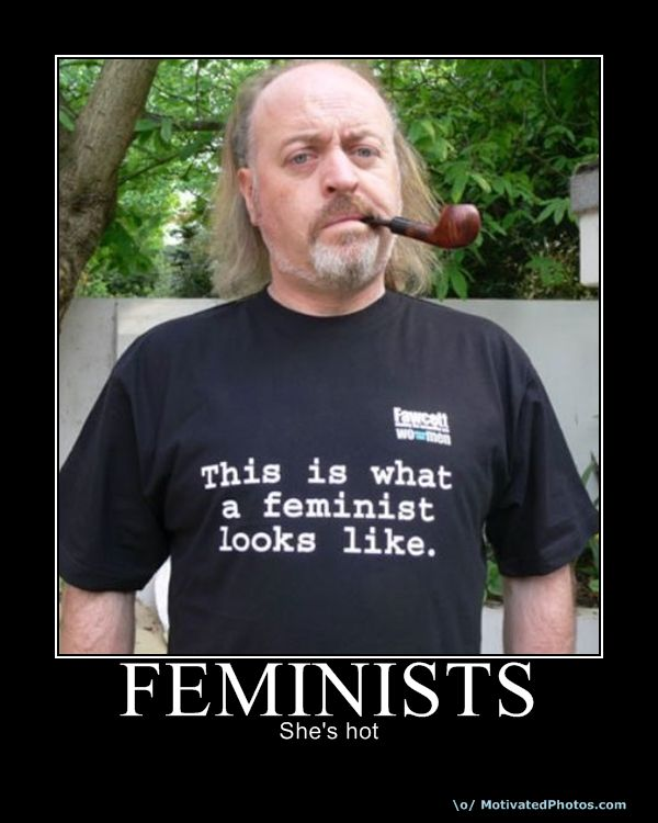 feminists shes hot