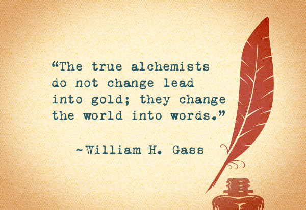 alchemists writing quote