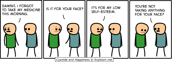 Medicine-Dealing-With-Self-Esteem-Issues-In-Comic-By-Explosm